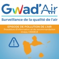 Niveau ORANGE de pollution sur CONSTAT le 05/11/2019