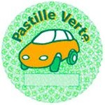 pastille verte anti pollution